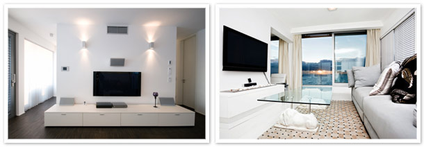 Concealing and Hiding Wires for Wall Mounted TVs,LCD, LED and home ...